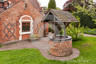 Old bricked well