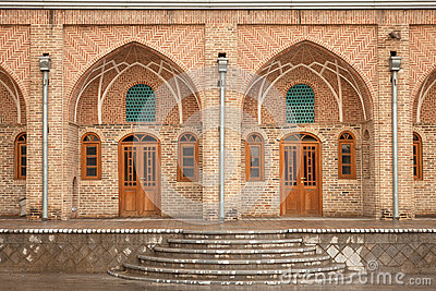 Old Brickwork Architecture of a Caravansary
