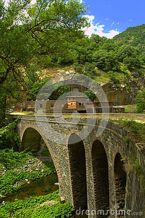 Free Old Bridge And Dam Wall Stock Photos - 42753673