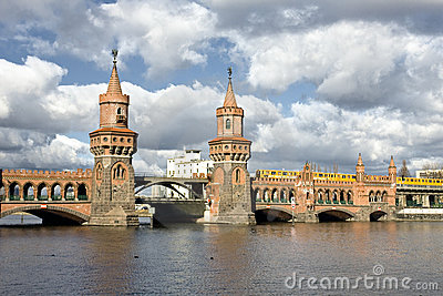 Old bridge in berlin
