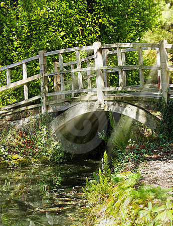 Free Old Bridge In Summer Sunlight Royalty Free Stock Photos - 19160668