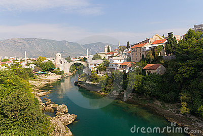 Old Bridge of Mostar, Bosnia and Herzegovina