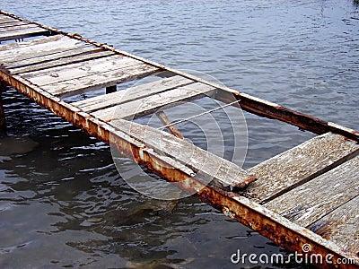 Old Bridge over the water 2