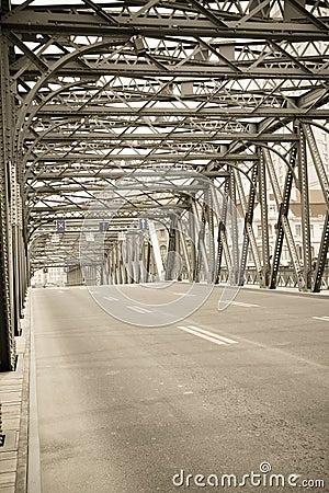Old  bridge in shanghai