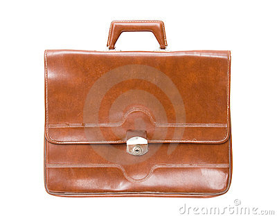 Old briefcase