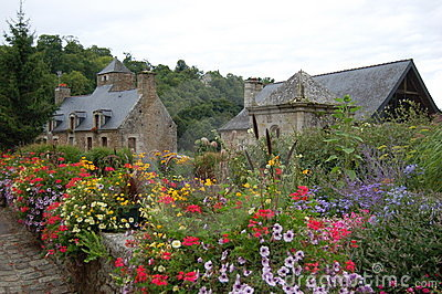 Old brittany houses