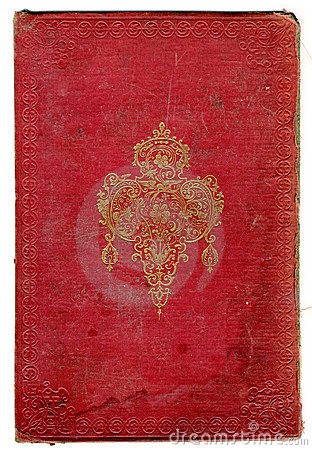 Free Old Broken Book Texture With Decorative Frame Stock Images - 4144744