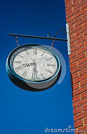 Old Broken Clock Royalty Free Stock Image