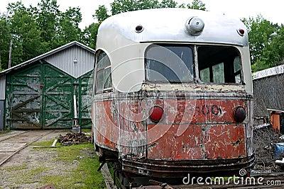 Old Broken Down Trolley