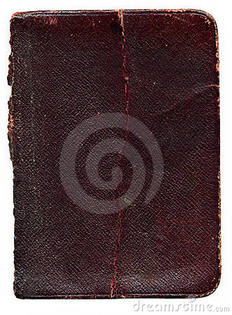 Old broken leather book texture