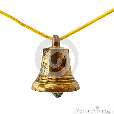 Old bronze bell