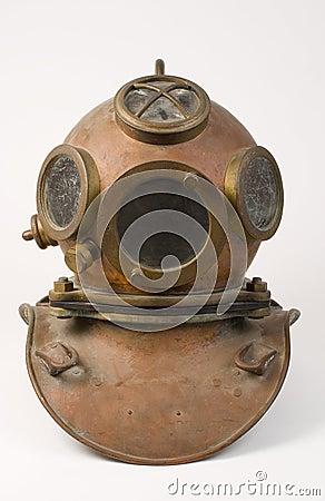 Old Bronze Diving Helmet