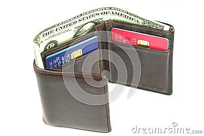 Old brown wallet #2