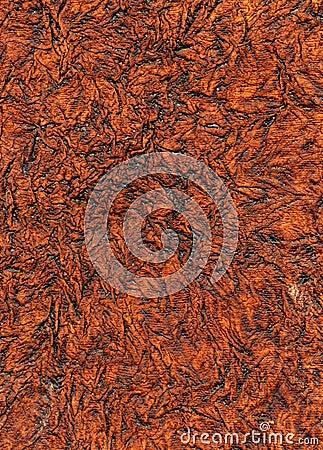 Old brown wrinkled paper