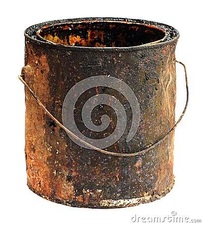 Free Old Bucket Stock Photos - 18032973