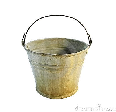 Free Old Bucket Royalty Free Stock Image - 8218686