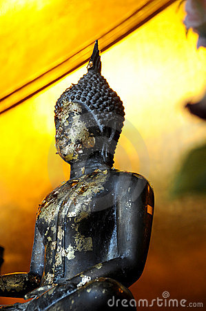 Old Buddhist statue