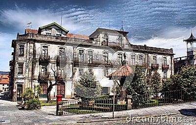 Old building in Ponte de Lima, Portugal