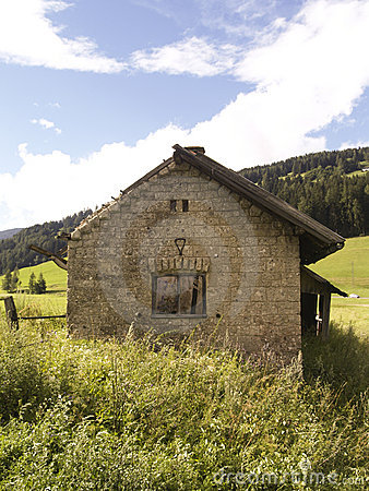 Free Old Building - Alps Royalty Free Stock Photo - 3250485