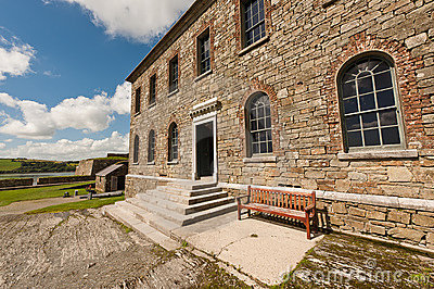 Old building in Charles Fort,  Kinsale