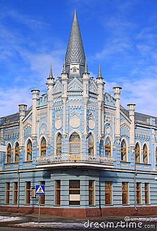 Old building in Cherkassy