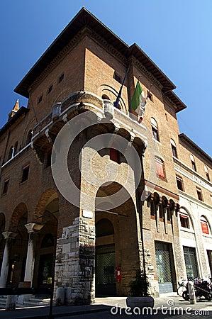 Old building Ravenna Italy