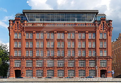 Old Building From Red Bricks Royalty Free Stock Photo - Image: 20030865