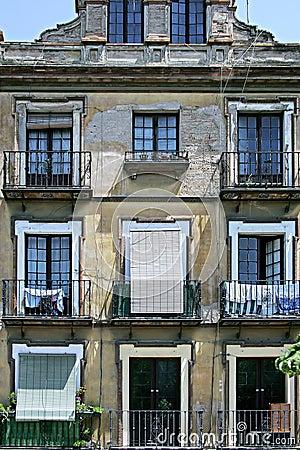 Old building in Seville, Spain