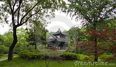 Old building at Slender West Lake, YangZhou
