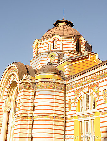 Old building in Sofia, Bulgaria