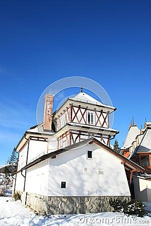 Old building of Strbske Pleso