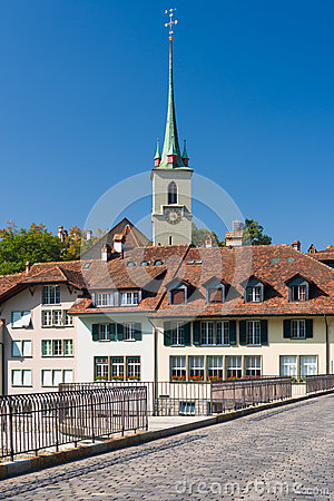 Old buildings in Bern