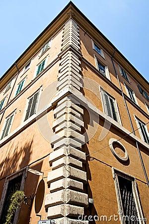 Old buildings corner