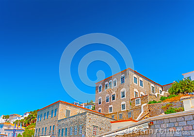 Old buildings at Hydra