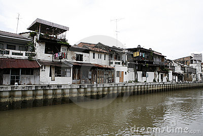 Old buildings in Melaka