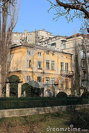 Old Buildings near Park