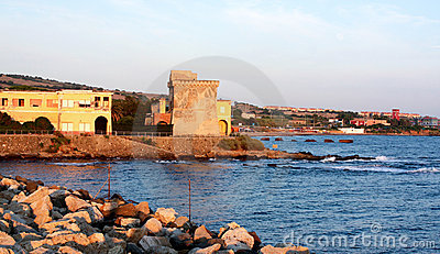 Old Buildings On The Sea - Civitavecchia, Italy