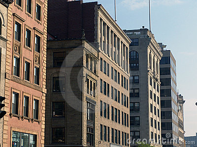 Old Buildings Tremont Street Boston