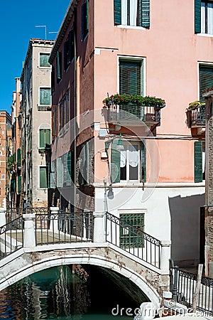 Old buildings in Venice