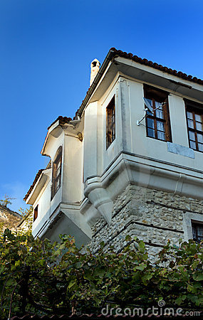Old bulgarian houses in Melnik