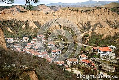 Old Bulgarian town Melnik