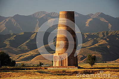 Old Burana tower, Kyrgyzstan