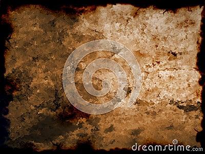 Old burnt paper/photo manip