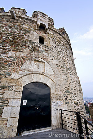 Old byzantine fortress in Greece