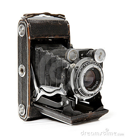 Free Old Camera. Royalty Free Stock Photography - 1641457