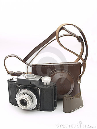 Free Old Camera Royalty Free Stock Image - 18502356