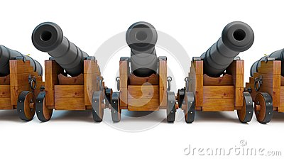 Old cannons row