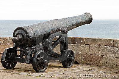 Old Canon on Battlements