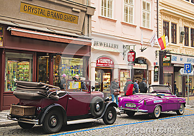 Old car Editorial Stock Image