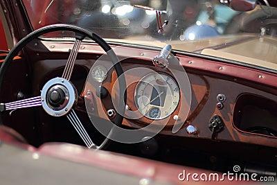 Old car closeup